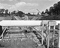 Bouw IJtunnel Het booreiland in het IJ Interieur van de verkeerskokers, Bestanddeelnr 915-6055.jpg