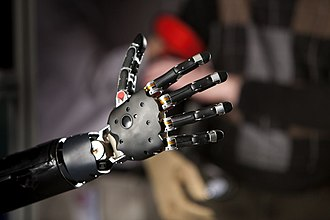 Technology in Star Wars - Image: Brain Controlled Prosthetic Arm