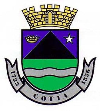 Cotia - Image: Brasão Cotia