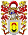 Brasão de Armas do 1º Barão de Arêde Coelho como as deverá ter usado.png