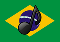 Brazil Flag Music Icon.png
