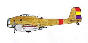 Breguet 460 - Breguet 460 Vultur of the Spanish Republican Air Force