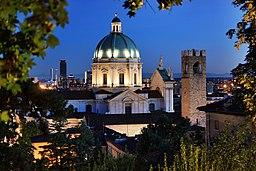Brescia - Duomo Nuovo visto dal castello