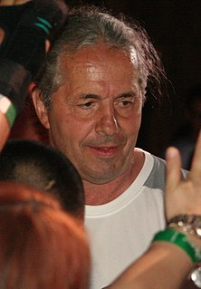 Bret Hart Canadian-American professional wrestler, writer and actor