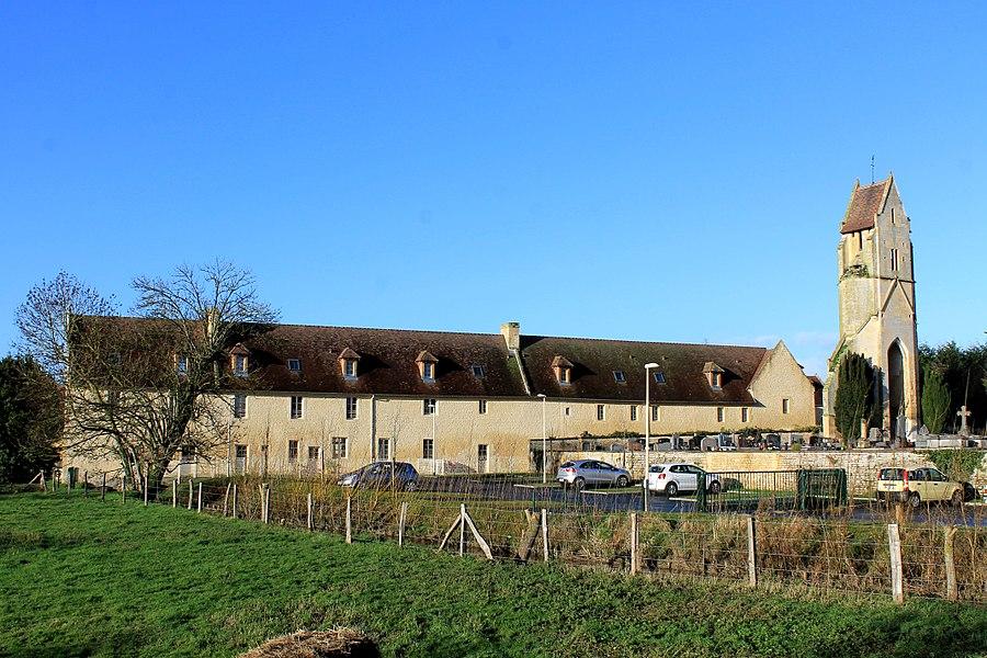 Ferme du vieux clocher ou ferme de Than à Bretteville-sur-Odon (Calvados)