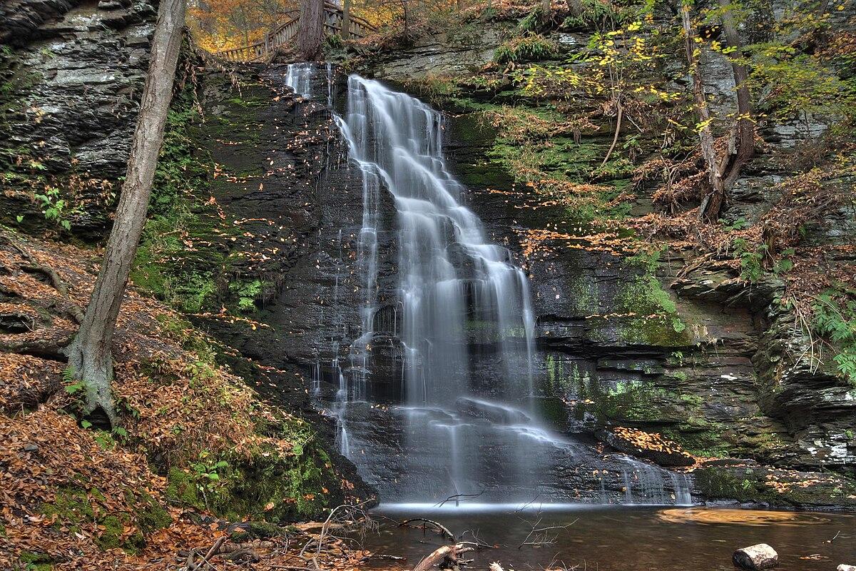 Bridal Veil Falls Pennsylvania