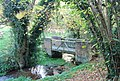 Bridge over a tributary of the River Bourne, Sheet Hill - geograph.org.uk - 1572563.jpg