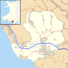 Maesteg is located in Bridgend