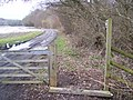 Bridleway near Halden Lane - geograph.org.uk - 1711597.jpg