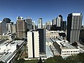 Brisbane CBD seen from the clock tower at the Brisbane City Hall 03.jpg