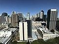 Brisbane CBD seen from the clock tower at the Brisbane City Hall 03.jpg