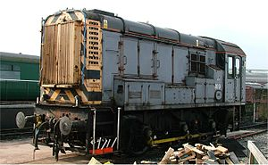 GB Railfreight - Image: British Rail Class 08 Shunter 08911 National Railway Museum York 2005 10 15