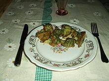 Broccoli al forno serviti