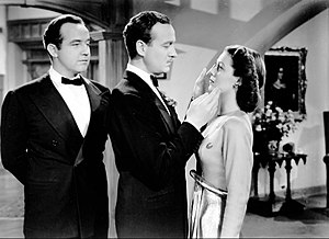 Eternally Yours (film) - L-R: Broderick Crawford, David Niven, and Loretta Young