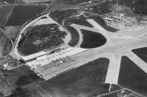 ILIS 1936 - The paved runways at Bromma in 1936