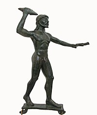 Bronze statuette of Zeus. About 490-480 BC. (3472021166).jpg