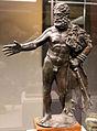 Bronzi di pipistrello (rosignano, 1565), ercole, I sec dc. 01.JPG