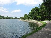 Brookline Reservoir, June 2010, Brookline MA.jpg
