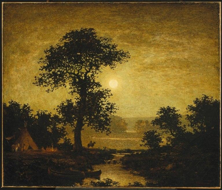 Brooklyn Museum - Moonlight - Ralph Albert Blakelock - overall