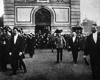 General Land Centennial Exhibition (1891) - Rudolf Bruner-Dvořák: Franz Joseph I of Austria