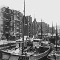 Bryggene i Kanalen sett fra Merakerbrua (1942) (26968911264).jpg