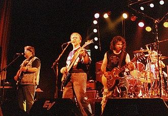 Bachman–Turner Overdrive - BTO in Örebro, Sweden, April 1991   L-R: Randy Bachman, Fred Turner, Blair Thornton, Robbie Bachman