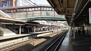 Bubaigawara Station - Image: Bubaigawara Station 20130309