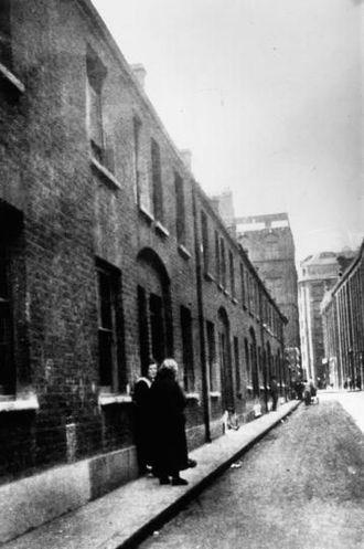 Mary Ann Nichols - Buck's Row, site of the murder of Mary Ann Nichols
