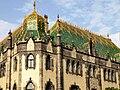 Budapesti Iparművészeti Múzeum sarokkupolája. -P8230150.jpg