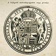Budapesti Tudomanyegyetem nagy pecsetje Orszag Vilag 1880 XIII sz.jpg