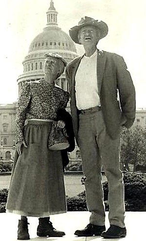 Irene Ryan - Ryan and Buddy Ebsen on The Beverly Hillbillies, 1970
