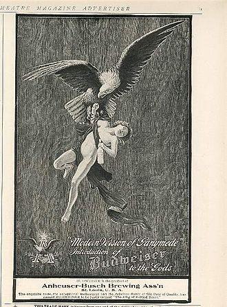 Advertising slogan - Image: Budweiser 1906