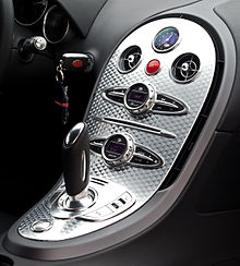 Bugatti Veyron 16.4 – Innenraum (1), 5. April 2012, Düsseldorf.jpg