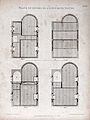 Building; plans of the four floors of a town house, showing Wellcome V0024281ER.jpg