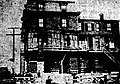 Building raised for Webster Street grade crossing elimination, June 1911.jpg