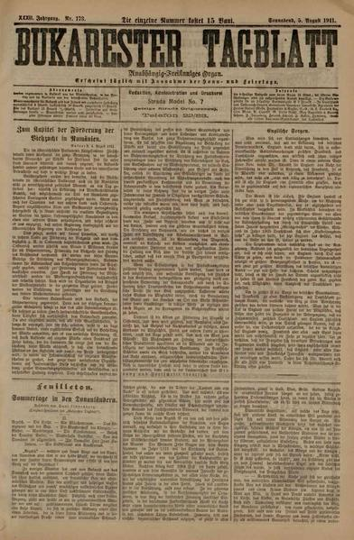File:Bukarester Tagblatt 1911-08-05, nr. 173.pdf