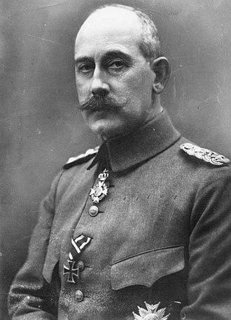 Prince Maximilian of Baden - Image: Bundesarchiv Bild 183 R04103, Prinz Max von Baden(cropped)