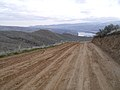 Burch Mountain Road and view of Wenatchee Washington.jpg