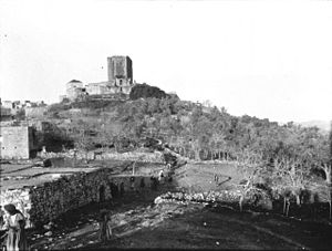 Chastel Blanc - Chastel Blanc as it appeared in 1905 (photographed by Gertrude Bell)