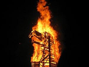 Phoenixville, Pennsylvania - Burning of the Phoenix