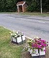 Bus Shelter, Church Hill, Saxmundham - geograph.org.uk - 1404998.jpg