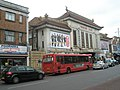 Bus outside the cinema in South Road - geograph.org.uk - 1524628.jpg