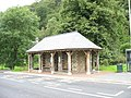 Bus shelter and toilets at the Tan y bwlch Interchange - geograph.org.uk - 509233.jpg