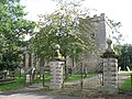 Bywell St.Peter - entrance gates - geograph.org.uk - 1570115.jpg