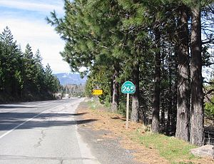 Weed, California - Near Route 265