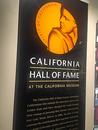 California Hall of Fame - Image: CA Hall of Fame Entrance Sign