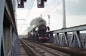 History of rail transport in Luxembourg - CFL type BR 42 locomotive