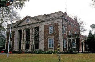 Charlton County, Georgia - Image: CHARLTON COUNTY COURTHOUSE