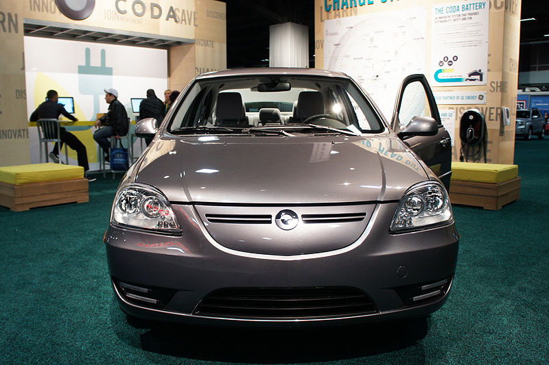 Coda Electric Car Parts