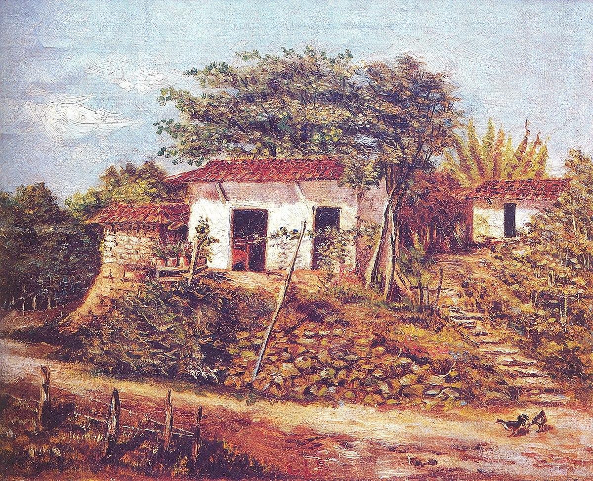 Pintura de costa rica wikipedia la enciclopedia libre for Como elegir pintura para casa